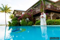 All Inclusive Belize Destination Beach Weddings! From intimate ceremonies on our private pier over the Caribbean or wiggling your toes in our sandy beach, to reserving the entire resort exclusively for your wedding, family and guests, the options for your destination beach wedding are yours for the taking at Distinctly Belize . . . Chabil Mar! #belizewedding #beachwedding #weddinginbelize #destinationbeachwedding #centralamericawedding #belizephotos #chabilmar #placencia Belize All Inclusive, Belize Resorts, All Inclusive Vacations, Resort Villa, Wedding Honeymoons, Destination Wedding Photographer, Caribbean, Swimming Pools, Wedding Photography