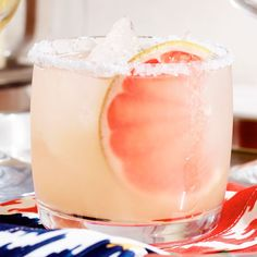 A refreshing drink popular in Mexico, the paloma is often made with grapefruit soda, but here we've used freshly squeezed grapefruit juice instead.