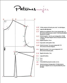 How to Draft a Basic Bodice Pattern Sewing Tools, Sewing Tutorials, Sewing Hacks, Sewing Crafts, Sewing Projects, Techniques Couture, Sewing Techniques, Pattern Cutting, Pattern Making