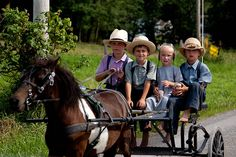 The Amish people live a very simple life with strong family and religious ties. Most people don't know about this secretive religious sect. Find out more about the secrets and traditions of the Amish. Amish Pie, Amish Farm, Amish Country, Country Charm, Country Life, Church Fellowship, Amish Family, Amish Culture, Holmes County