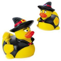 If you love Halloween, Giveaway the Wicked Witch Duck! $2.79/each Rubber Wicked Witch Duck | Promotional Rubber Duck | Imprinted Ducks