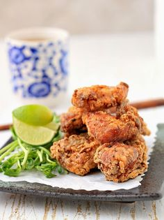Karaage ( Japanese fried chicken ). Serve this up with some dipping sauces like Kewpie mayo and Kecap manis.