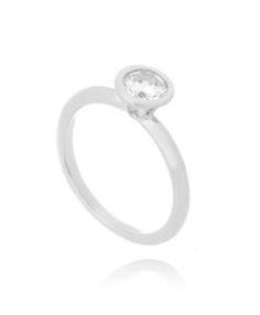 anel da moda prata semi joias