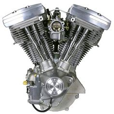 "Influence - Harley ""Evolution"" running from 1984-1999. This Engine marked a big redesign for Harley Engines changing the head design considerably from previous itterations. (www.factoryfat.com, 2002)"