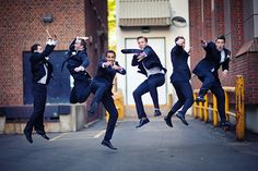 Capture the giddy anticipation before the ceremony by leaping into the air together, on the count of three.