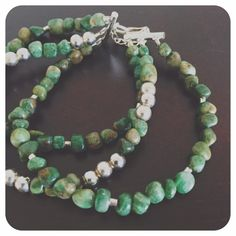Aventurine & sterling bracelet So special!! 3 strands of aventurine gemstones with all sterling beads and clasps. When you need other than a statement necklace, here's your new statement bracelet!! trisanna Jewelry Bracelets