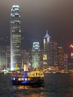 Star Ferry, Hong Kong.