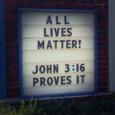white lives matter | White Lives matter | The Recovering Legalist