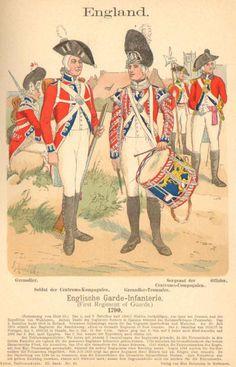 Nr 40 British Uniforms, French Revolution, Napoleonic Wars, British Army, Great Britain, History, Empire, Historia