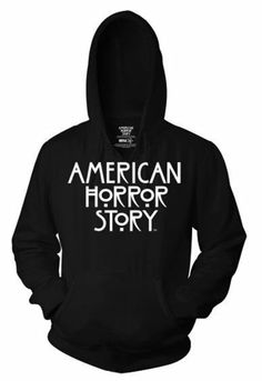 Amazon.com: American Horror Story - Stacked Logo Pullover Hoodie: Clothing