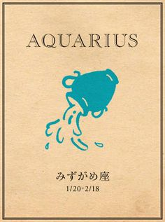 Aquarius the Water-Bearer