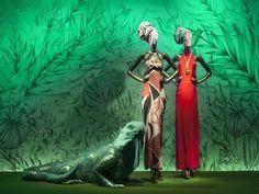 #Frédérique #Vernillet #art verry nice colors  Printemps Windows by Frédérique Vernillet - News - Frameweb