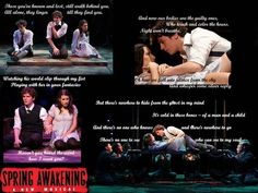 Wallpaper of Spring Awakening for fans of Spring Awakening 17186198 Broadway Plays, Broadway Theatre, Musical Theatre, Spring Awakening Musical, Theatre Nerds, Theater, The Guilty, Be More Chill, In A Nutshell