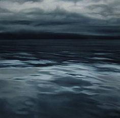 Greenland 17 by Zaria Forman, pastel on paper