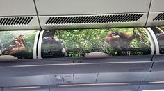 Samsung OLED Screen for Overhead Lockers