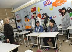 Learning the ropes at a new school is something most students do in August. But six foreign exchange students from China who attend Serra Catholic ...