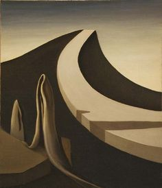 Kay Sage - 1940 - I Walk Without Echo www.transitionresearchfoundation.com