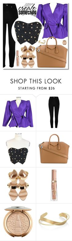 """""""Dede Couture"""" by merima-kopic ❤ liked on Polyvore featuring River Island, Givenchy, Giuseppe Zanotti and dedecouture"""