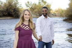 Salt River Engagement Session