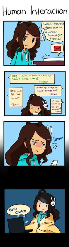Anti-Social Media :: 7:Human Interaction | Tapastic Comics - image 1