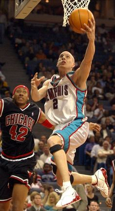 Jason Williams Memphis Grizzlies Donyell Marshall Chicago Bulls