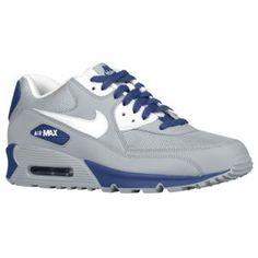 Nike Air Max 90 - Men's - Strata Grey/Black/Gym Red/Anthracite.  $79.99