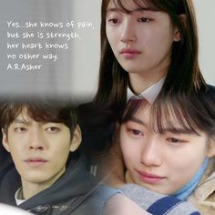 she knows of pain, but she is strength, her heart knows no other way. Bae Quotes, People Quotes, Movie Quotes, Uncontrollably Fond Kdrama, Prison Life, Korean Drama Quotes, Weightlifting Fairy Kim Bok Joo, Kim Woo Bin, Korean Entertainment