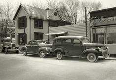Michael Paul Smith fotografía (sin retoques) modelos a escala de ciudades estadounidenses en los años veinte. Todo un artista.