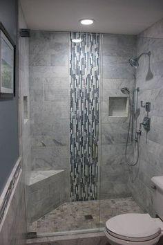 Fresh bathroom shower remodel ideas (5) #smallbathroomremodeling