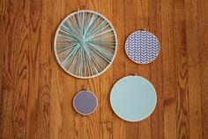 Free shipping  50 Shades of Teal  Wall Art  by ALittleCommonScents