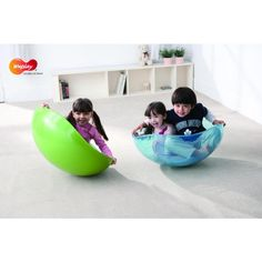 Take your rocking and balance to a whole new level! This anti-slip Rocking Bowl can rock in all directions and can be used for 1 or 2 children.