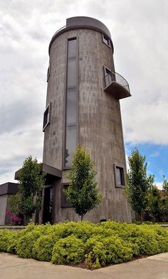 water tower converted to house - Google Search