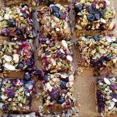 Blueberry Oat Breakfast Bars   Clean Food Crush