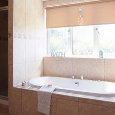 Unique Travertine tiled bathroom