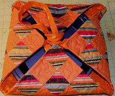 Quilted Casserole Carrier. love this!!