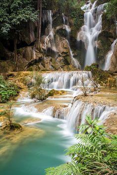 Kuang Si Falls, Laos.