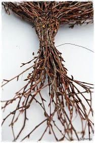 Suvikumpu: Risusydämen ohje II Birch Branches, Spruce Tree, Homemade Gifts, Grapevine Wreath, Art For Kids, Diy And Crafts, Christmas Wreaths, Diy Projects, Gardens