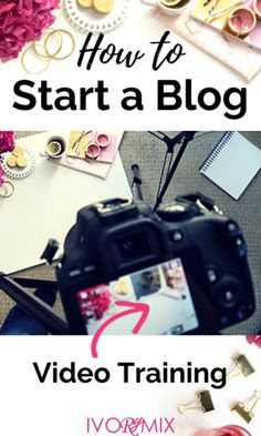 How to start a blog with video training. Have you ever wondered what blogging was like? This beginners guide includes a step by step guide and view into what it takes to start a blog.