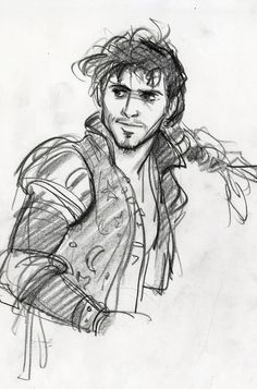 <b>Your favorite characters are almost unrecognizable in these early sketches and concept art.</b>THIS FLYNN IS SOOOOO HOT