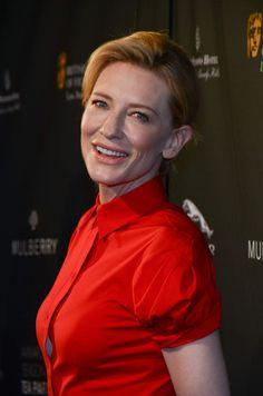 Cate Blanchett At BAFTA LA 2014 Awards Season Tea Party, January 2014.
