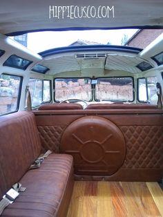 Interior Kombi, Volkswagen Bus Interior, Bus Vw, Car Volkswagen, Vw Cars, Vw T1, Vw Camper, Motorhome, Combi T2