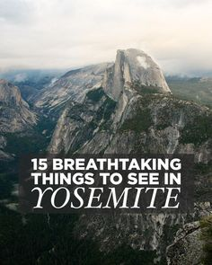 If you're planning a visit, here are 15 Breathtaking Things to do in Yosemite National Park. It's our fave park, and we've even talked about moving there. Road Trip Usa, West Coast Road Trip, Usa Roadtrip, Usa Trip, California National Parks, Us National Parks, California Usa, Yosemite California, California Camping