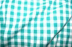 NB 5638-25 Boerenbont ruit/hartje groen