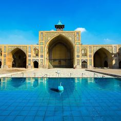 Hakim Mosque is one of the oldest mosques in #Isfahan, Iran
