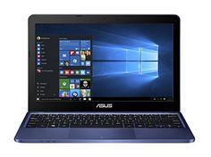Asus E200HA-FD0042T PC portable 11.6″ Noir (Intel Atom, 2 Go de RAM, SSD 32 Go, Windows 10, Garantie 2 ans)