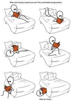 reading on bed | reading on the bed