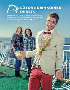 Löydä aurinkoinen puolesi / Tallink Silja
