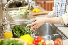 8 Tips to wash fruits and vegetables