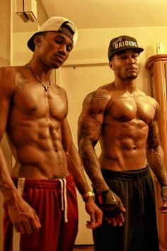 Sexy young black men