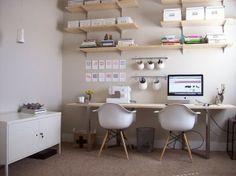 Ikea Office by lynda